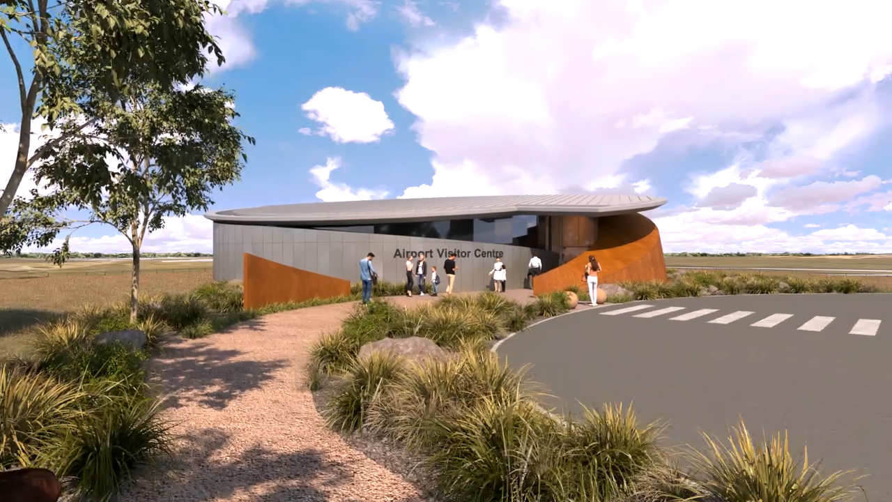 Western Sydney Airport Visitor Centre Construction waste management