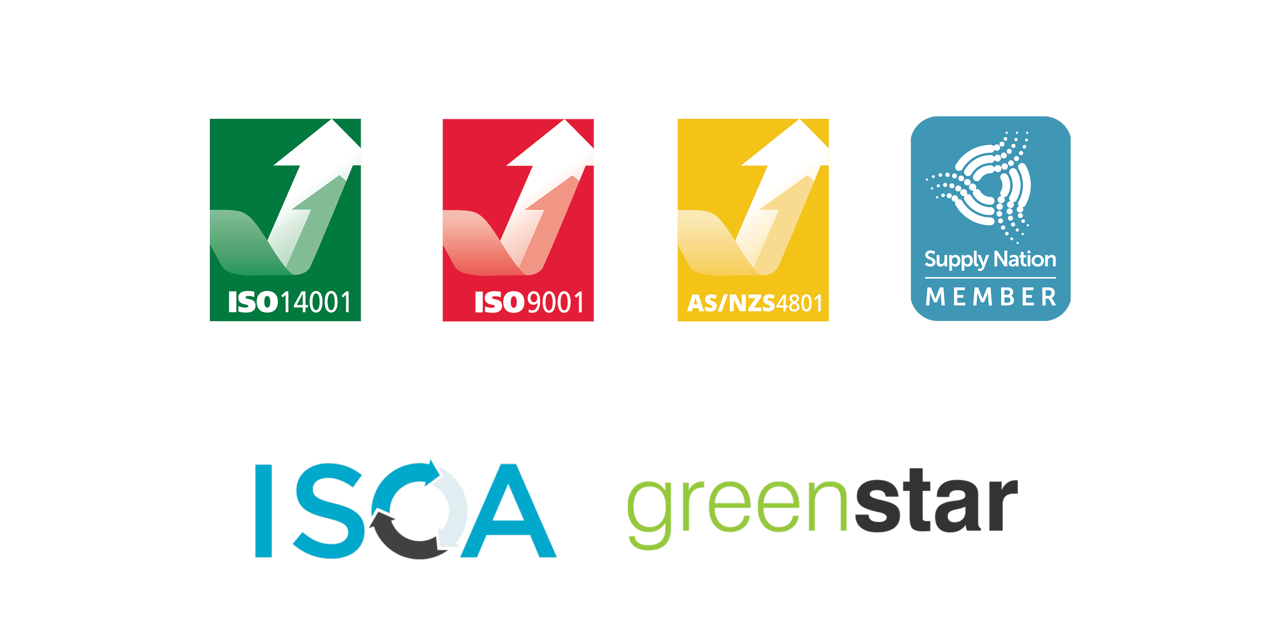 Grasshopper Environmental is awarded with several certifications in best practice in sustainability & waste management including; IS0 14001, ISO 9001, AS/NZS 4801, Supply Nation and ISCA Membership and Green Star Accreditation.