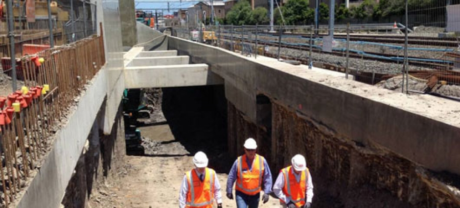 North Strathfield Rail Underpass Project